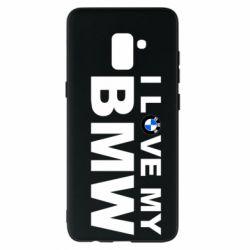 Чохол для Samsung A8+ 2018 I love my BMW