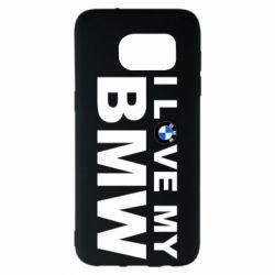 Чохол для Samsung S7 EDGE I love my BMW