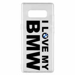 Чохол для Samsung Note 8 I love my BMW