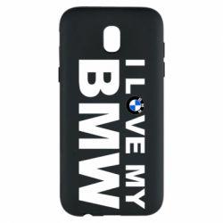Чохол для Samsung J5 2017 I love my BMW