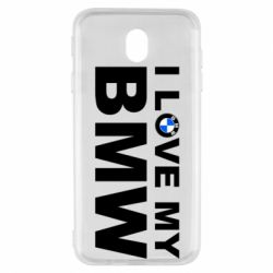 Чохол для Samsung J7 2017 I love my BMW