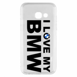 Чохол для Samsung A3 2017 I love my BMW