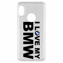 Чохол для Xiaomi Redmi Note 5 I love my BMW