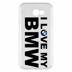 Чохол для Samsung A7 2017 I love my BMW