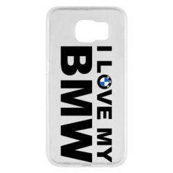 Чохол для Samsung S6 I love my BMW