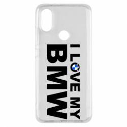 Чохол для Xiaomi Mi A2 I love my BMW