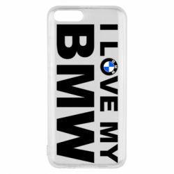 Чохол для Xiaomi Mi6 I love my BMW
