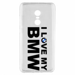 Чохол для Xiaomi Redmi Note 4 I love my BMW
