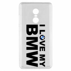 Чохол для Xiaomi Redmi Note 4x I love my BMW