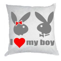 Подушка I love my boy - FatLine
