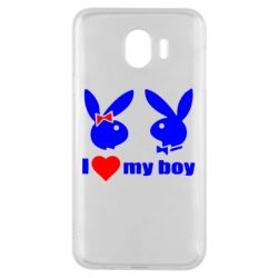 Чехол для Samsung J4 I love my boy - FatLine