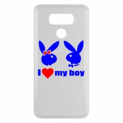 Чехол для LG G6 I love my boy - FatLine
