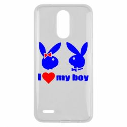 Чехол для LG K10 2017 I love my boy - FatLine