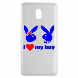 Чехол для Nokia 3 I love my boy - FatLine