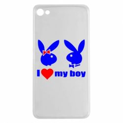 Чехол для Meizu U20 I love my boy - FatLine