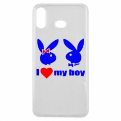 Чехол для Samsung A6s I love my boy - FatLine