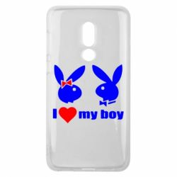 Чехол для Meizu V8 I love my boy - FatLine