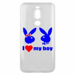 Чехол для Meizu X8 I love my boy - FatLine