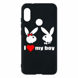Чехол для Mi A2 Lite I love my boy - FatLine