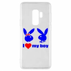 Чехол для Samsung S9+ I love my boy - FatLine