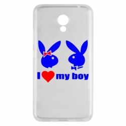 Чехол для Meizu M5c I love my boy - FatLine