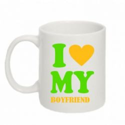 Кружка 320ml I love my boyfriend - FatLine
