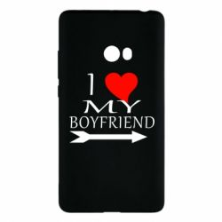 Чехол для Xiaomi Mi Note 2 I love my boyfriend