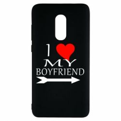 Чехол для Xiaomi Redmi Note 4 I love my boyfriend