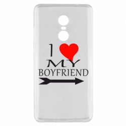 Чехол для Xiaomi Redmi Note 4x I love my boyfriend