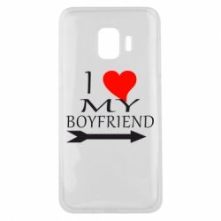 Чехол для Samsung J2 Core I love my boyfriend