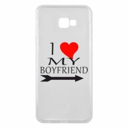 Чехол для Samsung J4 Plus 2018 I love my boyfriend