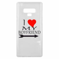 Чехол для Samsung Note 9 I love my boyfriend