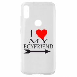 Чехол для Xiaomi Mi Play I love my boyfriend