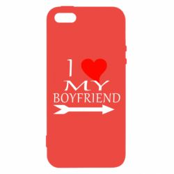 Чехол для iPhone5/5S/SE I love my boyfriend