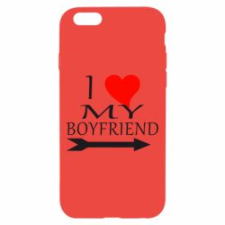 Чехол для iPhone 6/6S I love my boyfriend