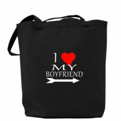 Сумка I love my boyfriend - FatLine