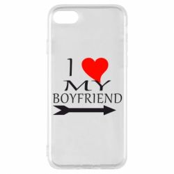 Чехол для iPhone 8 I love my boyfriend