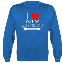 Реглан I love my boyfriend - FatLine