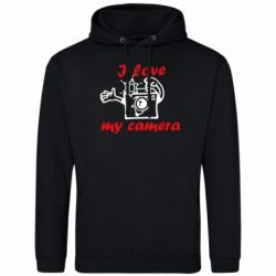 Толстовка I love my camera - FatLine