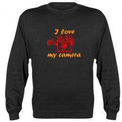 Реглан (свитшот) I love my camera - FatLine
