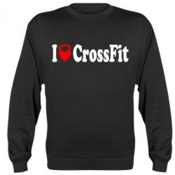 Реглан (свитшот) I love my CrossFit - FatLine