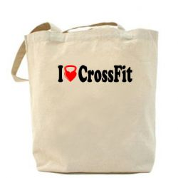 Сумка I love my CrossFit - FatLine