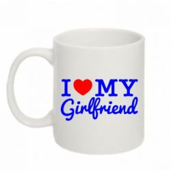 Кружка 320ml I love my girlfriend - FatLine