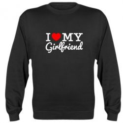 Реглан I love my girlfriend - FatLine