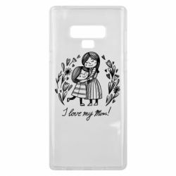 Чохол для Samsung Note 9 I love my mom