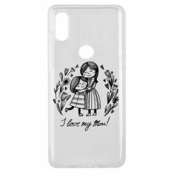 Чохол для Xiaomi Mi Mix 3 I love my mom