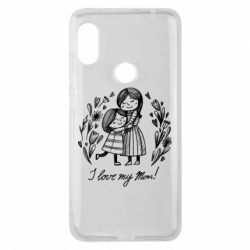 Чохол для Xiaomi Redmi Note Pro 6 I love my mom