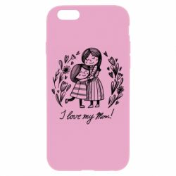 Чохол для iPhone 6/6S I love my mom