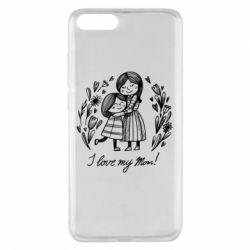 Чохол для Xiaomi Mi Note 3 I love my mom