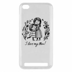 Чохол для Xiaomi Redmi 5a I love my mom